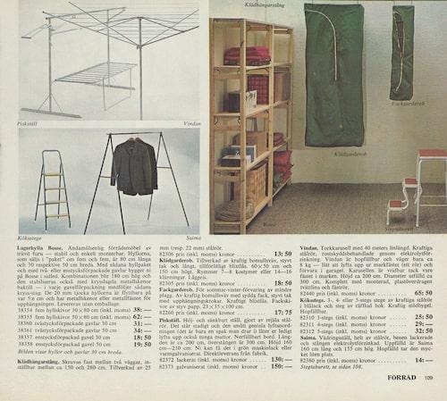 Bosse, som Ivar hette då, lyfts i katalogen för första gången 1970.