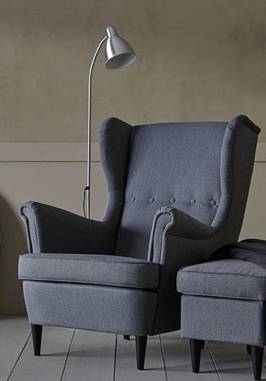 Nu har Ikea 20 procent rabatt på den klassiska och mysiga fåtöljen Strandmon.