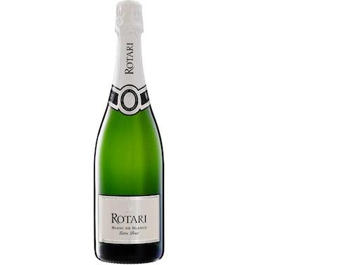 """Rotari enligt Allt om Vins expert """"Knastertorr med pigg syra. Mycket vin för pengen""""."""