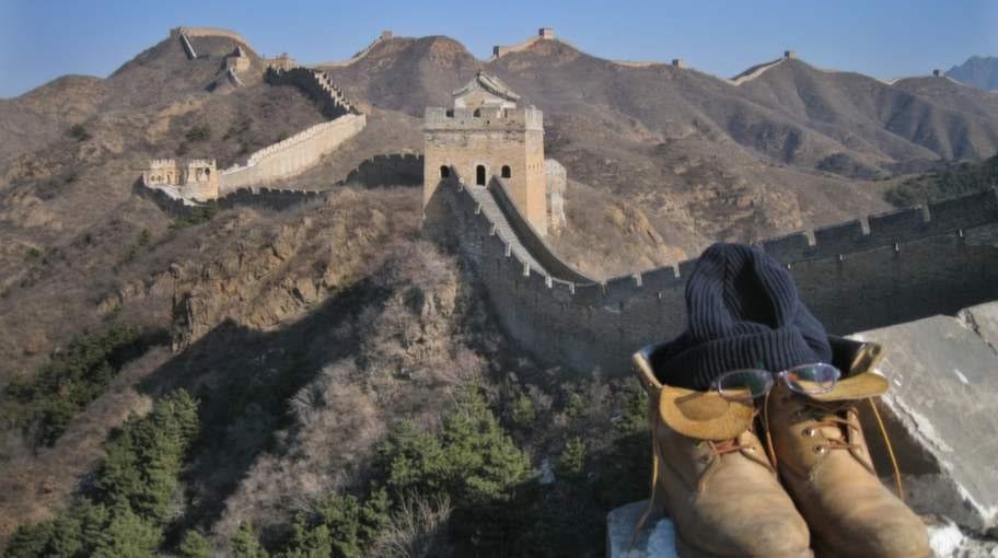 Kinesiska muren, Kina.