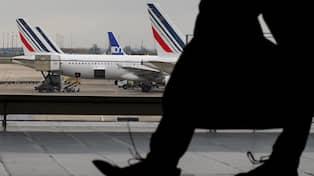 Fransk strejk kan paverka flyget