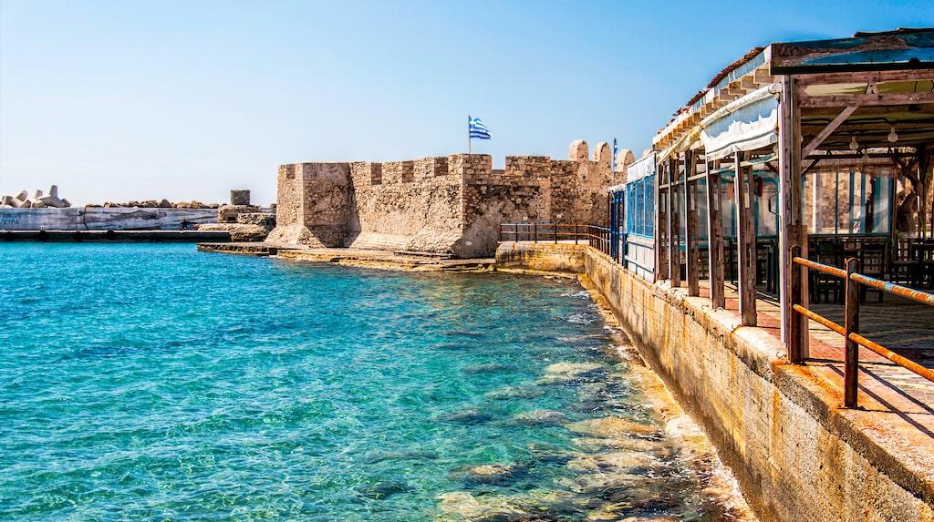 Lerapetra på östra Kreta.