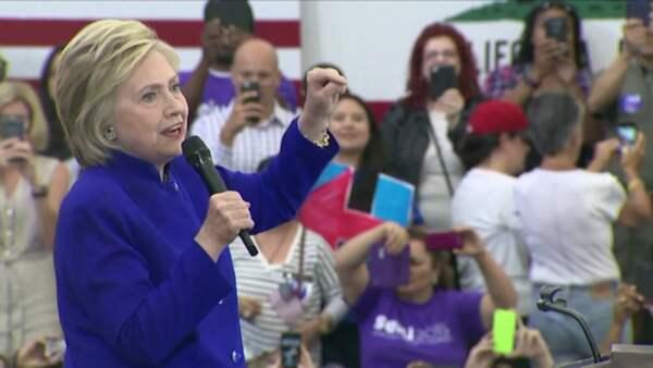 Hillary hyllade irakiska valen