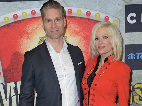 Linda Lampenius och maken Martin Cullberg.