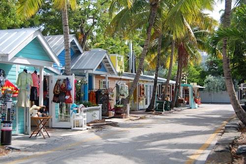 Korrallreven utanför Key West i sydligaste Florida dör.