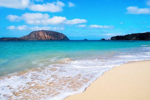Playa de la Conchas på La Graciosa.