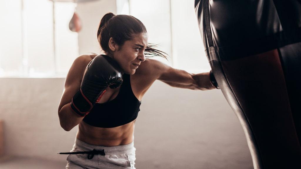 Kampsportsliknande träning blir mer och mer populärt.