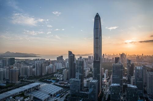 Bättre utsikt än så här får man nog inte, 562,2 meter upp i luften.