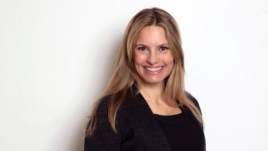 Camilla Lundén gick från etablerad skådespelerska till konstnär.