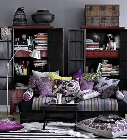Handgjort. Härligt rum fyllt med accessoarer gjorda för hand från Day Home.