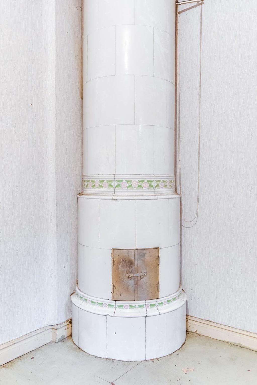 På källarplan fanns en gång i tiden en värmepanna.