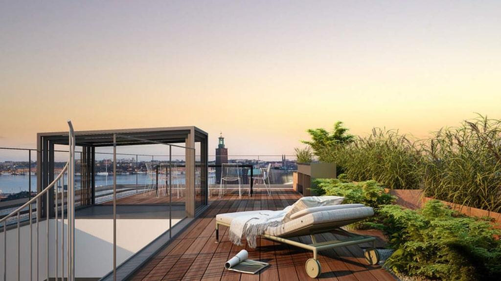 En femrummare för 250 000 kronor per kvadratmeter. Det kan ha gjort den här lägenheten till den dyraste som sålts i Sverige.