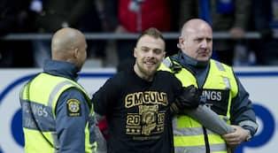 Mats Rosseli Olsen sprang in på planen under match. Foto  Michael Erichsen    BILDBYRÅN bd9d9ede6757f