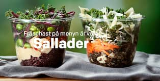 mcdonalds sallad kcal
