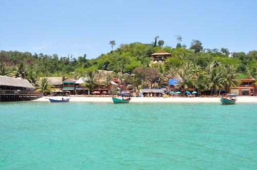 Paradisstränder på Koh Rong.