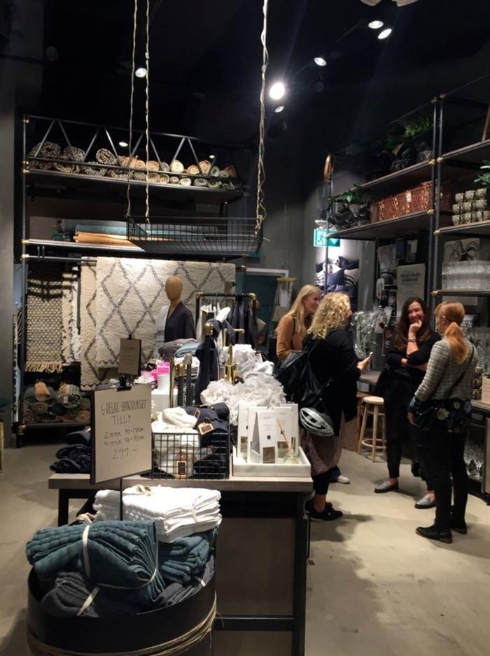 Invigningen av Ellos butik i Stockholm 2016.