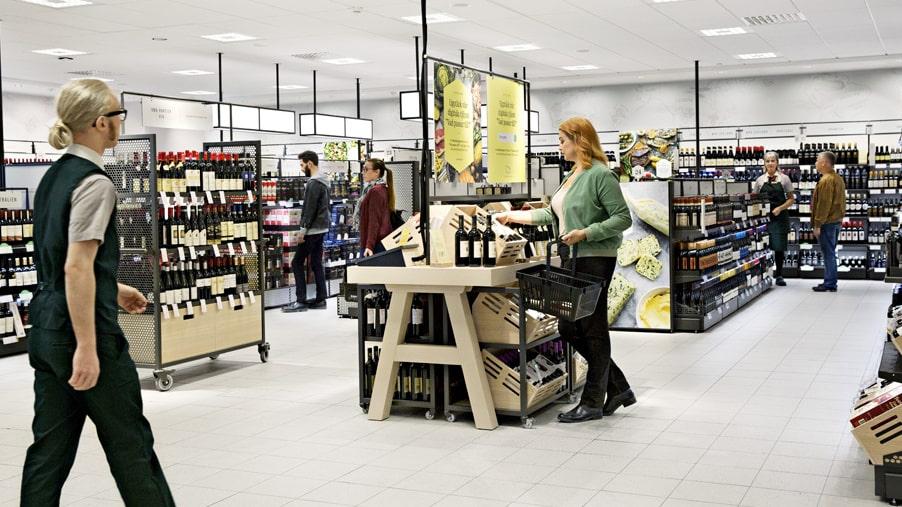 Det är stor skillnad på alkoholhalten bland de vin-sorter som säljs på Systembolaget