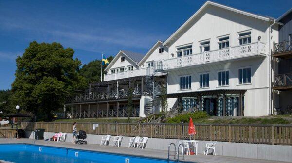 Ulvö Hotell har bara 26 rum.