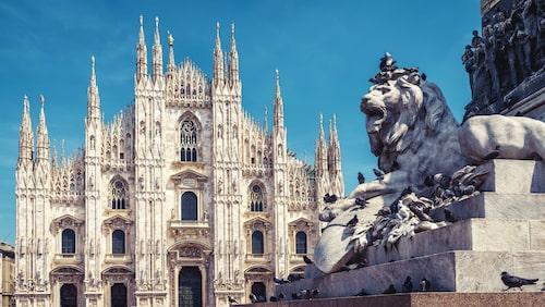 Duomo di Milano är en av Europas största katedraler.