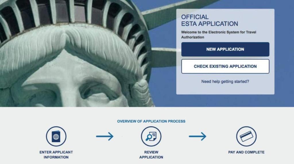 Reser du utan visum måste du ansöka om ESTA för att släppas in i USA.