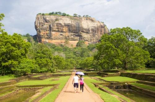 Sigiriya ett av Unescos världsarv.
