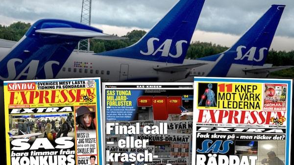 Expressen den 11, 18 och 19 november 2012.