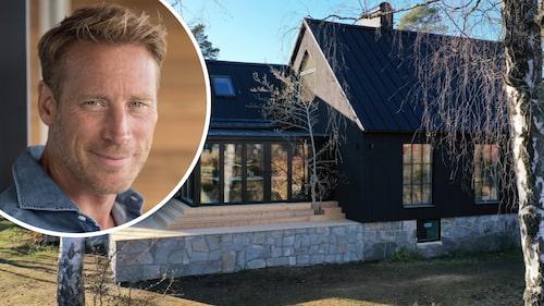 Kändismodellen och entreprenören Pierre Leander har förvandlat flera gamla hus på Lidingö till riktiga lyxvillor.