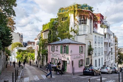 Romantiska Montmartre.