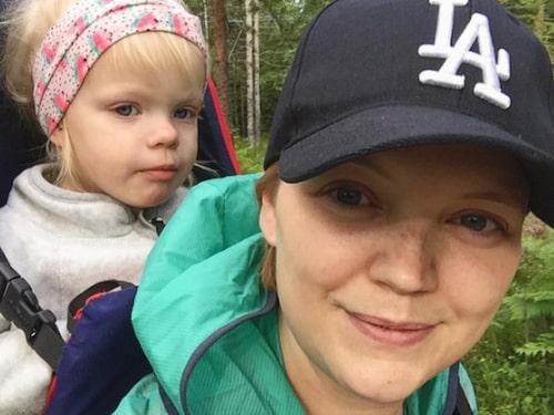 För två år sedan var Jeanine Esberg från Stockholm gravid med sitt första barn.