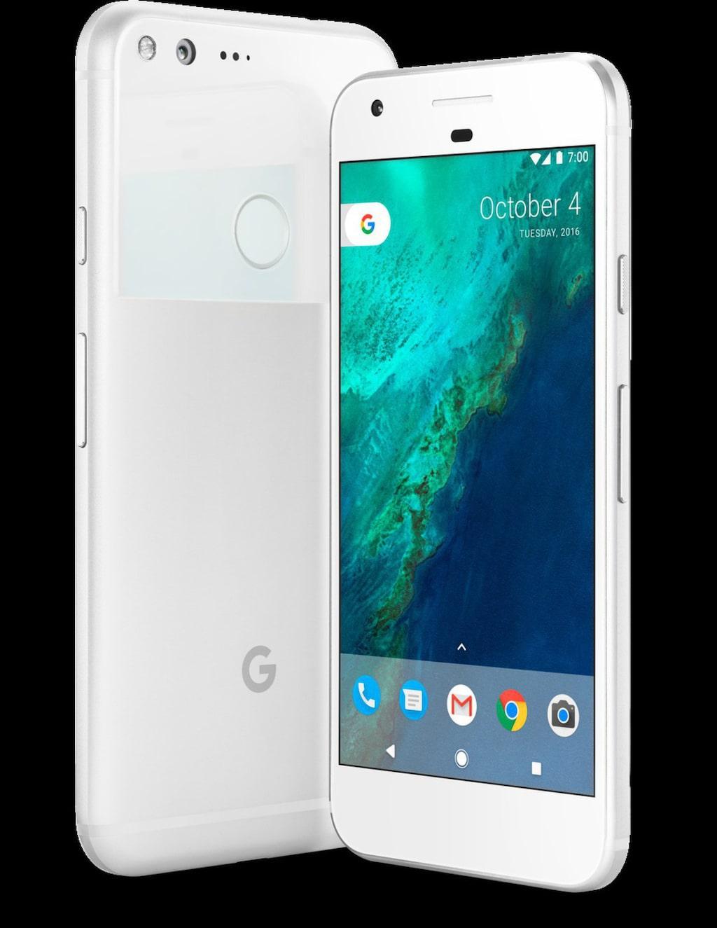 Snart släpps även Googles nya, omtalade smartphone Pixel i två olika storlekar.