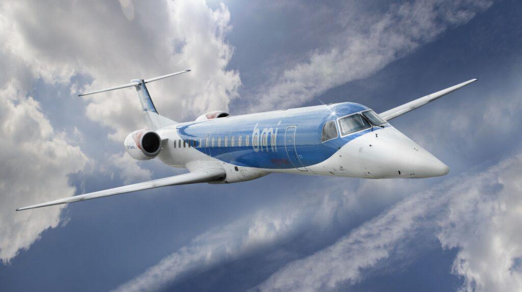 Det är flygbolaget Bmi som flyger sträckan Landvetter-Birmingham.