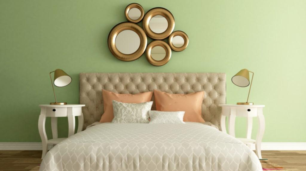 <p>Se till att ha ljusa färger i sovrummet – det gör dig lugn och harmonisk.<br></p>