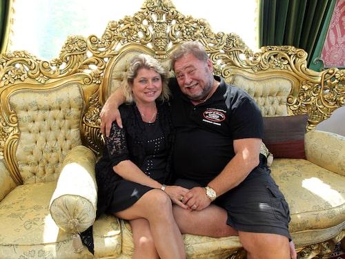 Leif-Ivan med hustrun Susanne.