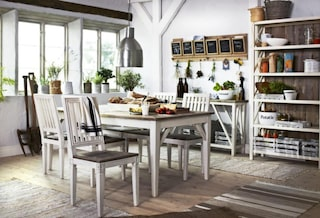 Nicole Matbord med 4 stolar Rut   Mio i 2020   Stolar, Idéer