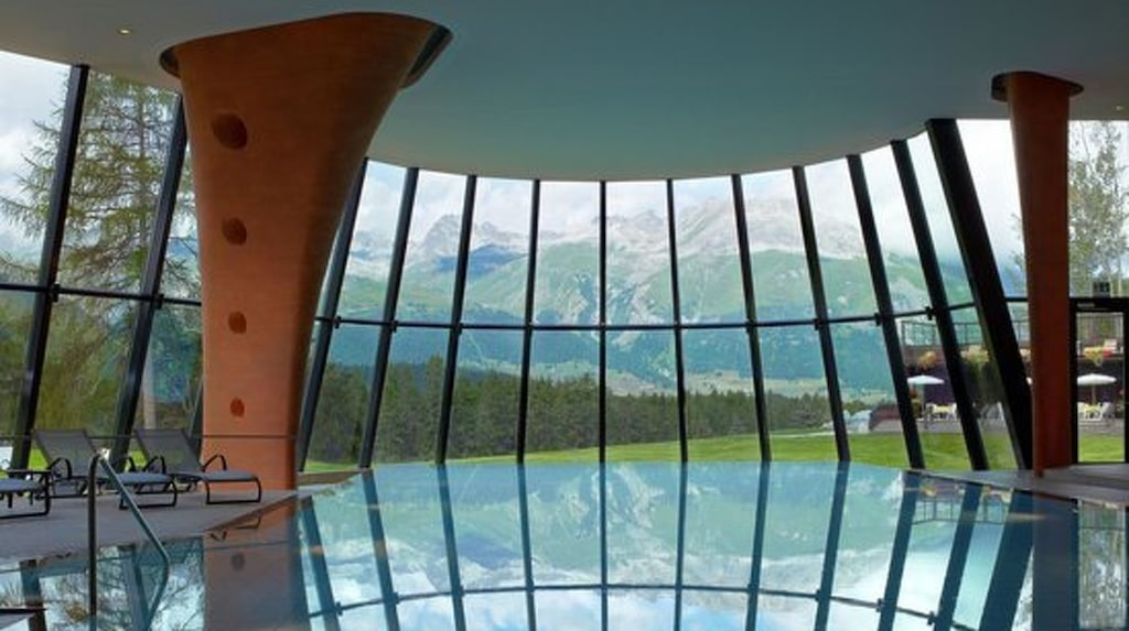 Grand Hotel Kronenhof – Pontresina, Switzerland.