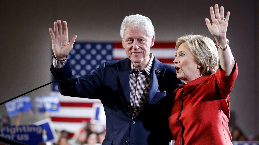 Bill Clinton har varit USA:s president och Hillary Clinton blev nästan president.