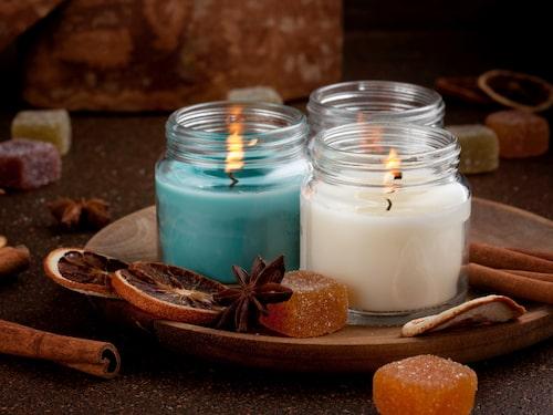 Doftljus avger höga koncentrationer av formaldehyd, en färglös gas som är giftig och i stora mängder kan vara cancerframkallande.