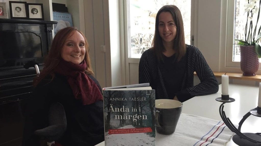Annika tillsammans med Hälsolivs reporter Marilén Karlsson.