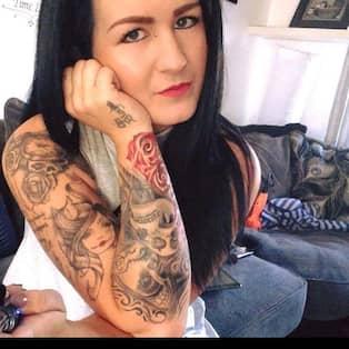 Ont efter tatuering