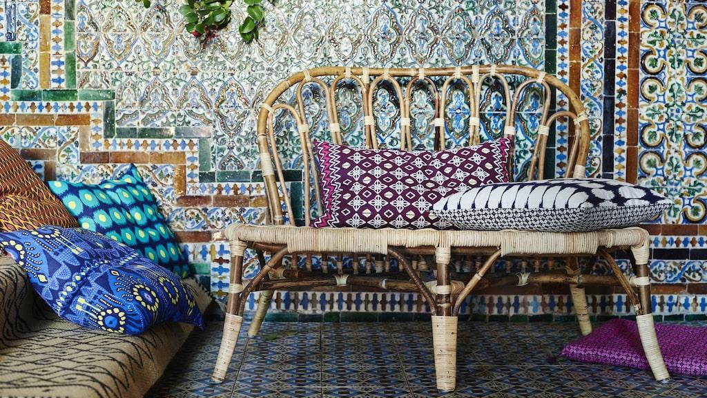 """Kollektionen """"Jassa"""" är en mix av möbler, inredningsdetaljer och textilier."""