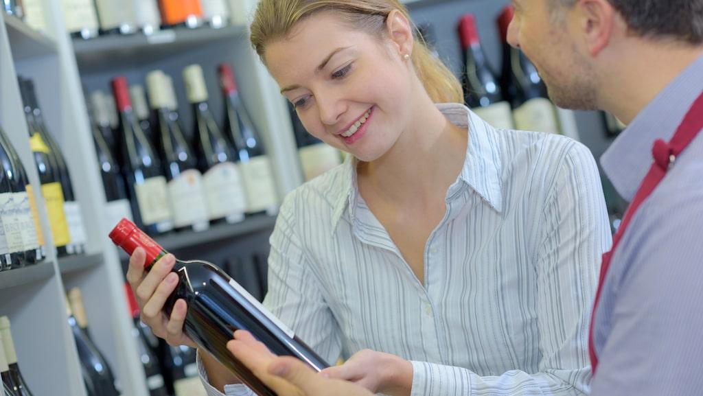 Vinflaskans etikett kan innehåll mycket som är svårt att förstå.