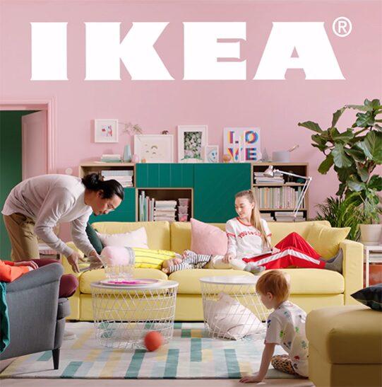 Här är de första bilderna från en av Ikeas filmer som lanseras i samband med 2018 års katalogsläpp. Bläddra vidare och få en försmak på de nya kollektionerna!