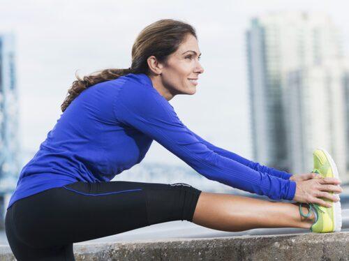 Träna för hälsan - inte för viktraset.