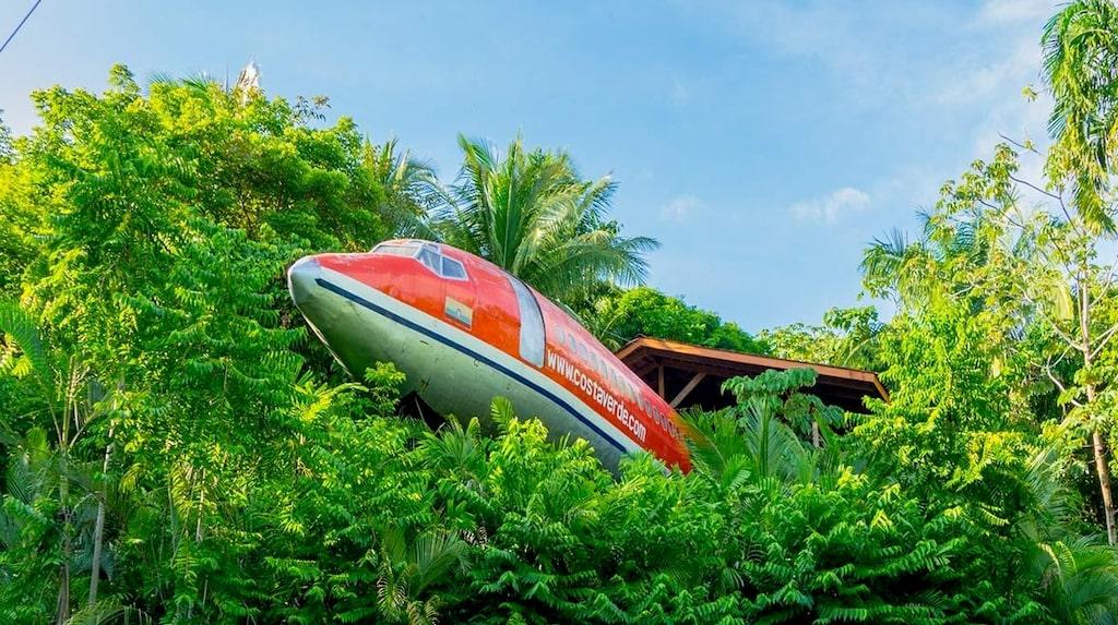 En gång i tiden flög planet för South Africa Air och Avianca Airlines.