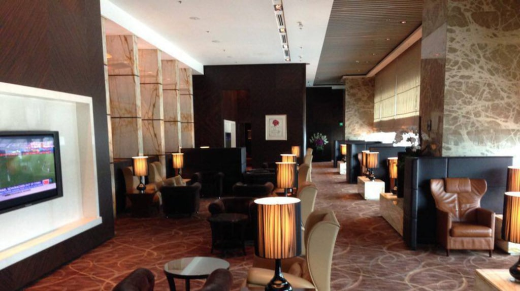 <p>Singapore Airlines The Private Room i Singapore.<br></p>