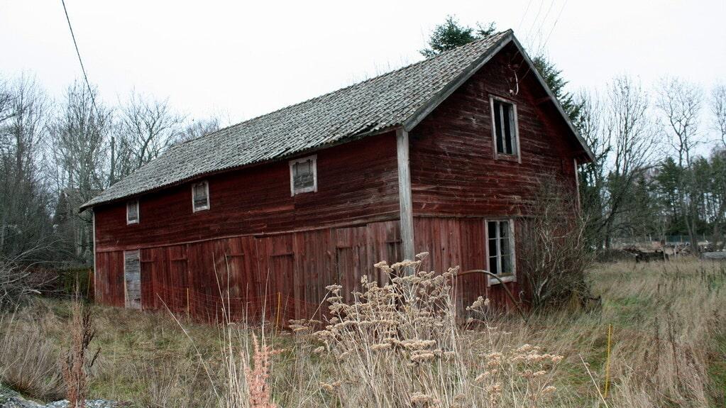 Huset från 1909 är övergivet sedan 12 år tillbaka.
